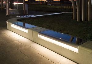 Seat Solar met LED-verlichting.