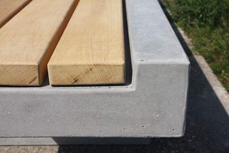 Betonnen Zitelementen Tuin : Betonnen zitelementen als rustpunt voor de voetganger