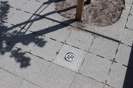 Waterpasserende tegels | Betonnen ventilatietegels