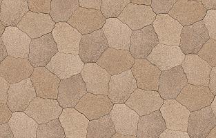 Zarafa parkstenen zijn speciaal ontworpen voor het maken van meerdere patronen met 1 organische vorm.