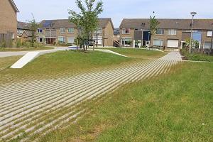 Met Hydro Lineo grasbestrating kun je bijdragen aan een duurzame en fraaie leefomgeving.