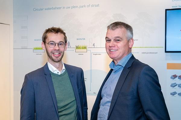 Wilrik Kok (Field Factors) en Alfons van Woensel (Struyk Verwo Infra)