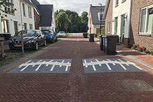 Verkeerskussens 20 km/h in woonwijk
