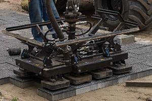 machinaal bestratingspakket 4-3-4