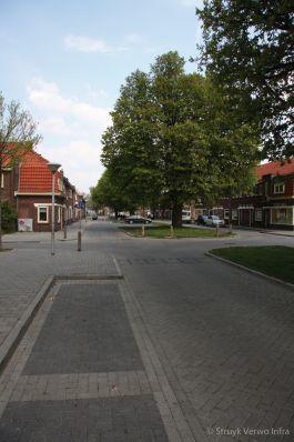 Waterdoorlatende bestrating grijs en zwart|Bomenwijk Zwolle