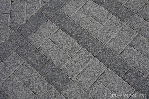 Drainagestenen 21x10,5 grijs|waterdoorlatende stenen||infiltratie regenwater