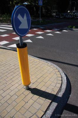 Nevergreen betonstraatstenen 21x10,5x8 geel