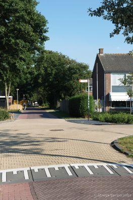 Verkeersdrempel|Renovatie centrum Groet - Meeuwenlaan