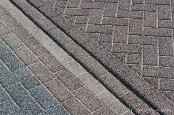 Lavaro bruin 21x10,5x8 in keperverband|betonklinker gewassen