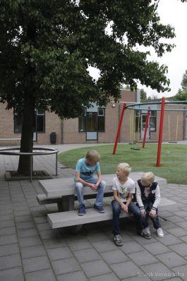 Prefab picknickset van beton