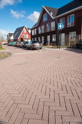 Bestrating in woonwijk Vathorst|alternatief op keramische bestrating|keranova