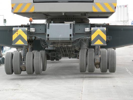 Container terminal belastingklasse|zware belasting op vloerplaat|VOSB klasse 600+