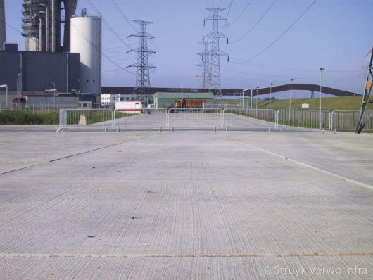 Vloerplaten toegepast in industriële omgeving