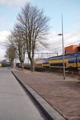 Herinrichting Stationsplein Oss|brede trottoirband