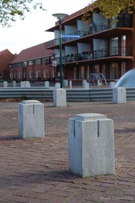 sierpaal Mechelen Mini lichtgrijs
