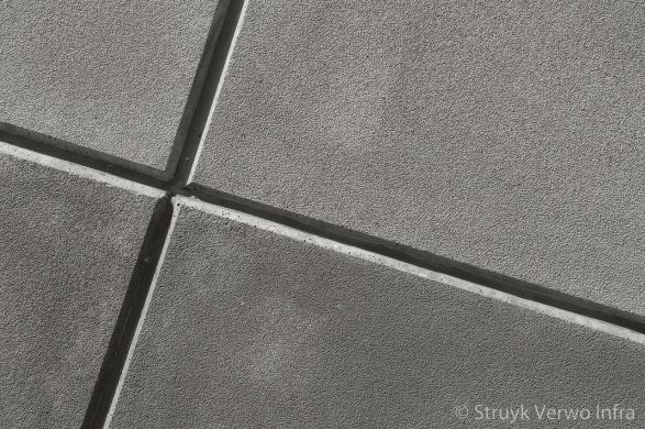 Vloerplaat van beton met structuur