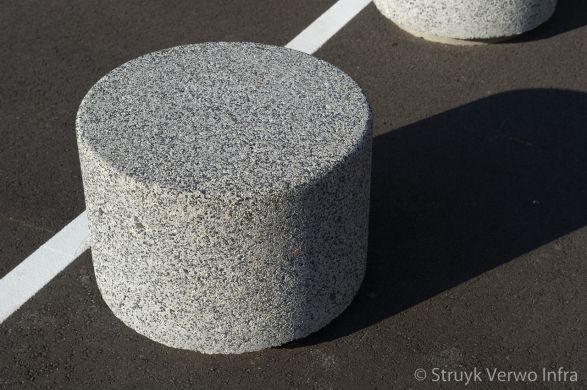Betonnen sierpoef|lavaro wit 705, lavaro wit/zwart 705|betonnen afzetelement