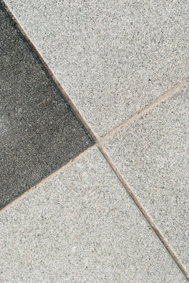 Gewassen stenen grijs en zwart