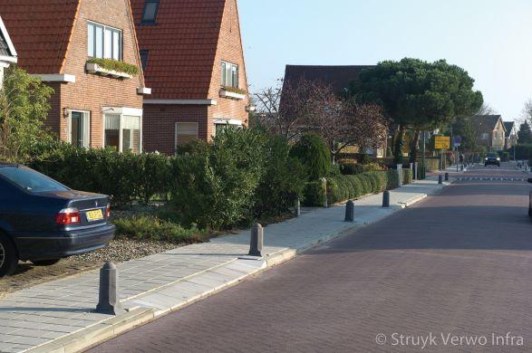 Sierpaal Alkmaar|antiparkeervoorziening van Beekstraat Landsmeer