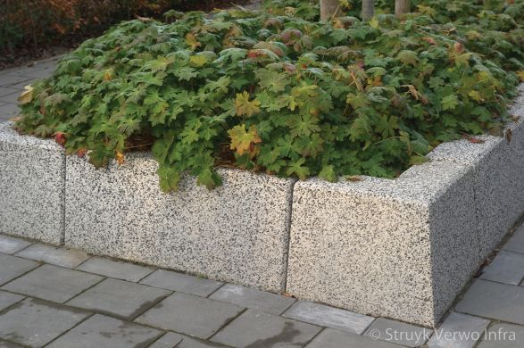 Bloembakbanden 20/40x70|keerelement beton