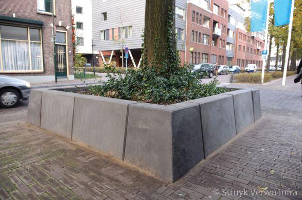 Bloembakbanden 20/40|bloembak hoekstukken 20/40|keerelement beton