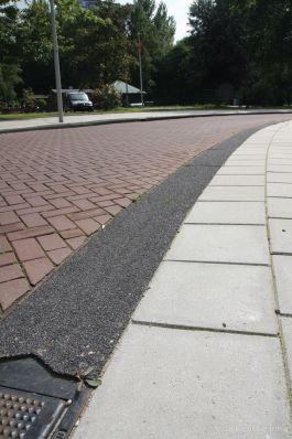 Trottoirband 28/30x24x100cm lavaro zwart 701|brede betonbanden