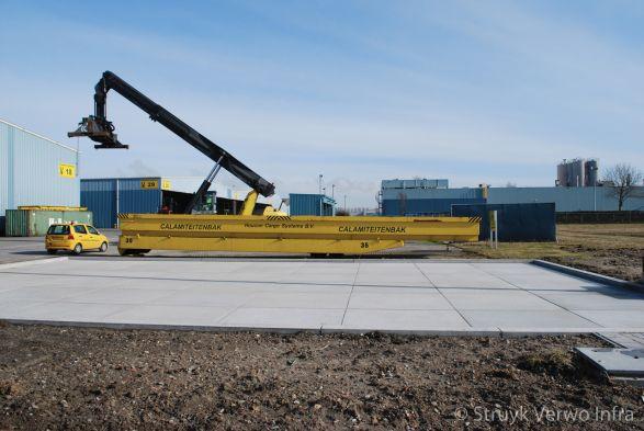 Calamiteitenplaats Verbrugge terminals Stabilo-W