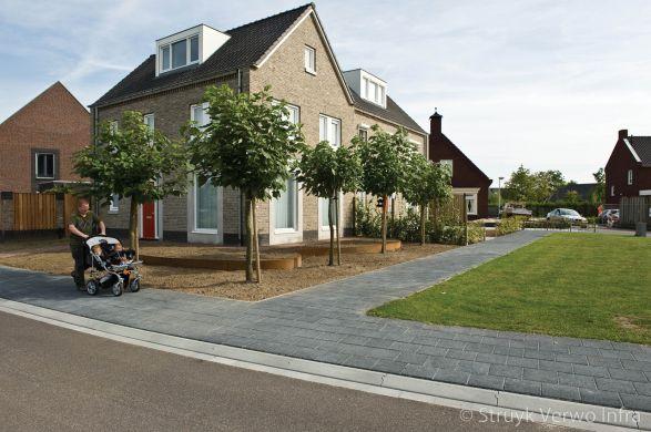 Geleideband 5/20x20|trottoir|Woonwijk de Afhang