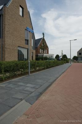 Uitritconstructie wijk Leihagen