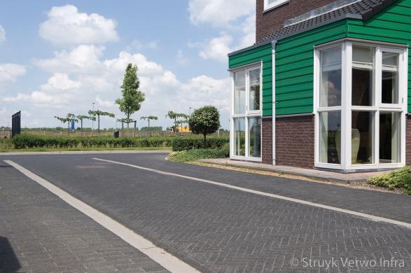 Toegangsweg woonwijk Bangert