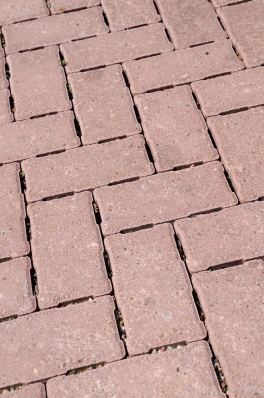 H2O stenen 21x10,5 rood|waterpasserende betonstraatsteen