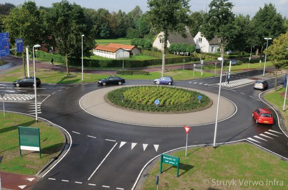 Rotondes met verhoogd plateau