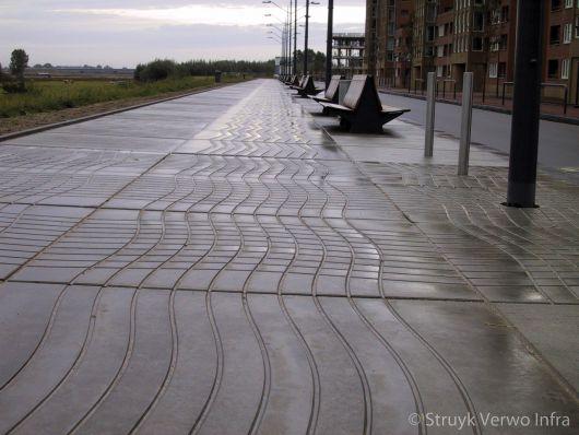 Figuratieplaat van beton