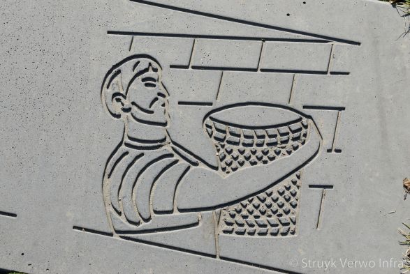 Figuur in beton|figuratie in beton