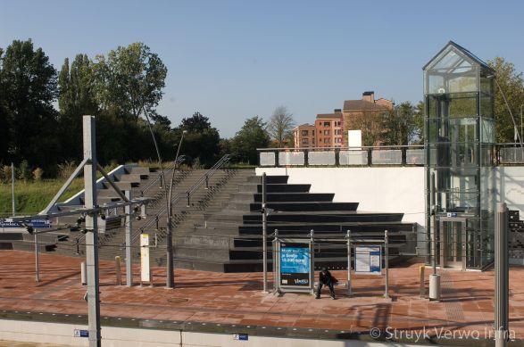 Trappartij station Pijnacker