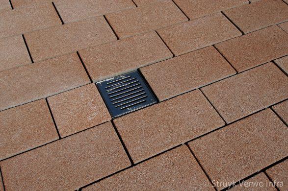 Breccia 40x20x8 ambrogio|uitgewassen bestrating in wildverband|gewassen betonstraatsteen