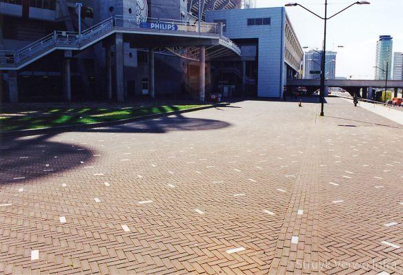 Metallo betonstraatsteen voor Arena Amsterdam
