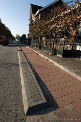 Scheidingsband bij fietspad|RWS band 11/22