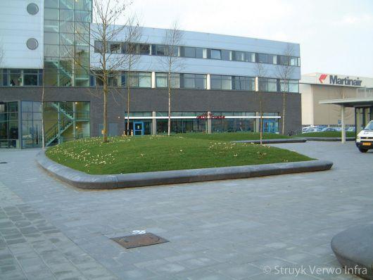 Bloembakbanden 60x35|plantvakken beton|parkbanden|groenomranding