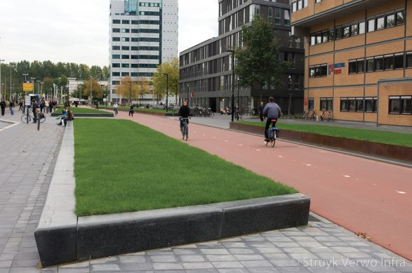 Zitelement 40/30x50 zwart terrazzo voorzien van anti-graffiti|opsluitbanden beton