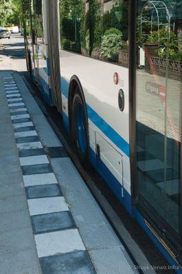 Optimale toegankelijkheid bus|HOV band|busperronband