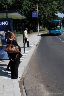 Toegankelijke halteplaatsen Domstad