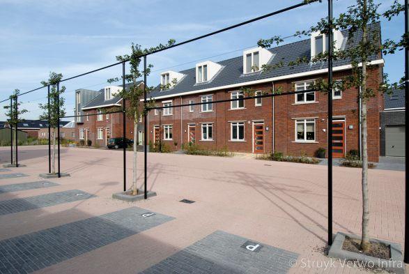 Parkeervakken in vinexwijk