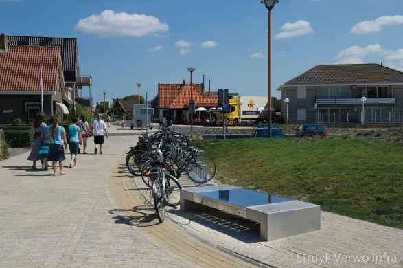 Seat solar|betonnen bank met zonnepaneel