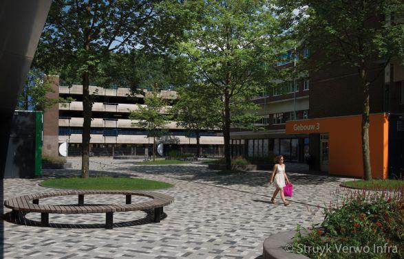 Bestrating Campus Diemen Zuid