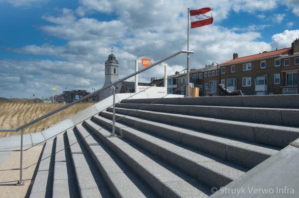 Betonnen traptreden lavaro grijs 712|Boulevard Katwijk|Lavaro grijs 012