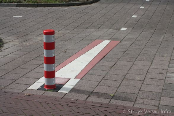 Fietspaalmarkering Amstelveen
