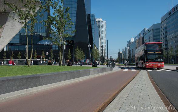 Stationsplein Rotterdam fietspad