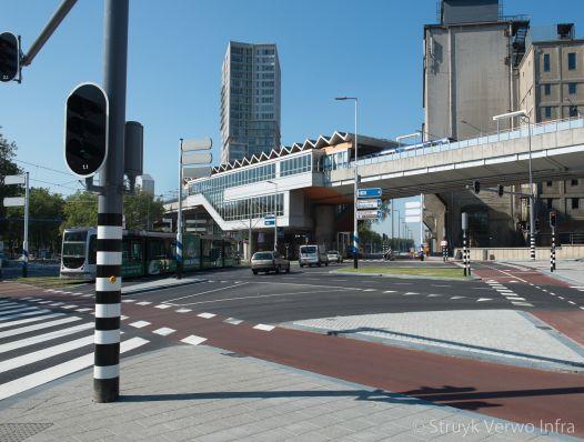Oversteekplaats Dordtselaan Rotterdam