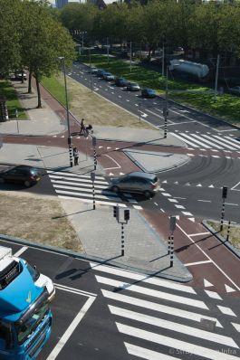Zebrapad Dordtselaan Rotterdam